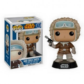STAR WARS REBELS - Funko POP N° 47 - Han Solo Hoth Outfit (LIMITED)