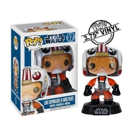 STAR WARS - Funko POP N° 17 - Luke Pilot - X-Wing Pilot