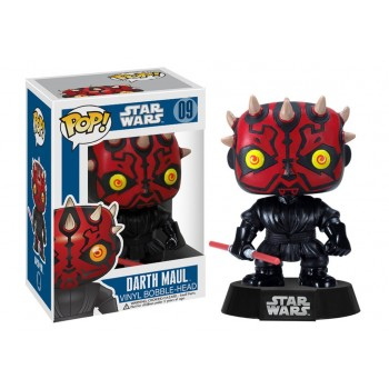 STAR WARS - Funko POP N° 09 - Darth Maul