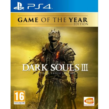 Dark Souls III The Fire Fades Edition - GOTY - PS4