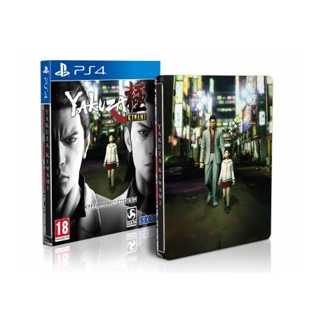 Yakuza Kiwami - Steelbook Edition - PS4