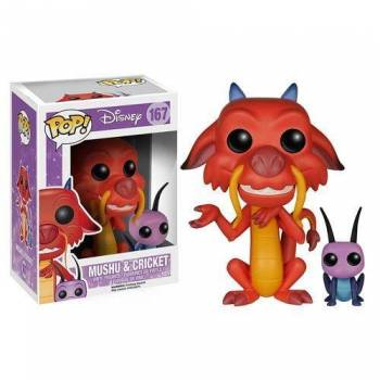 Disney Mulan - Funko POP N°167 - Mushu and Cricket