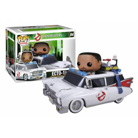 Ghostbusters - Funko POP RIDES N° 04 - Ecto-1 and Winston Zeddemore