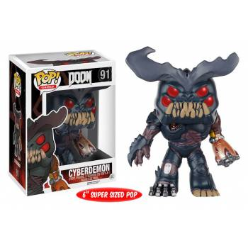 Doom - Funko POP N° 91 - Cyberdemon (Oversized)
