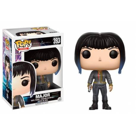 Ghost in the Shell - Funko POP N° 393 - Major - Black Jacket (Limited)