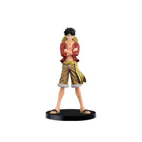 One Piece - Figurine Jeans Freaks - Special Color - Luffy - 17cm
