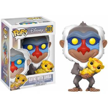 Disney - Funko POP N° 301 - Rafiki with Simba