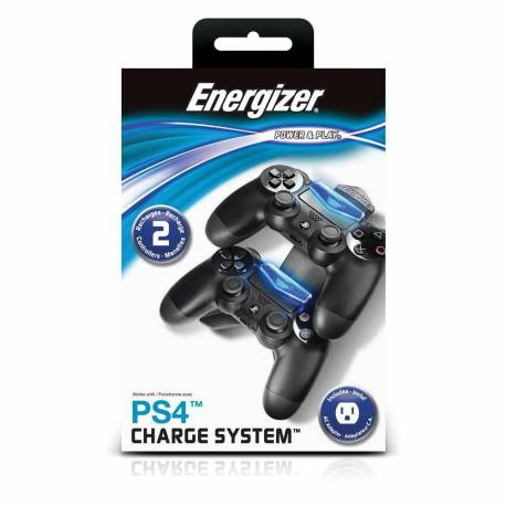 PDP - ENERGIZER - Double Charging station PS4