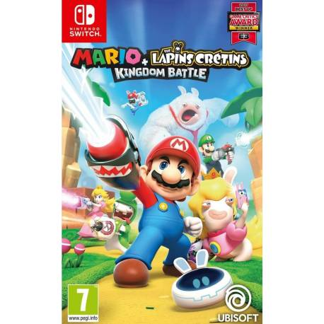 Mario + The Lapins Crétins : Kingdom Battle - Switch
