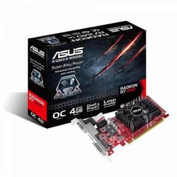 ASUS Radeon R7 240 4GB GDDR3 carte graphique (R7240-OC-4GD3-L)