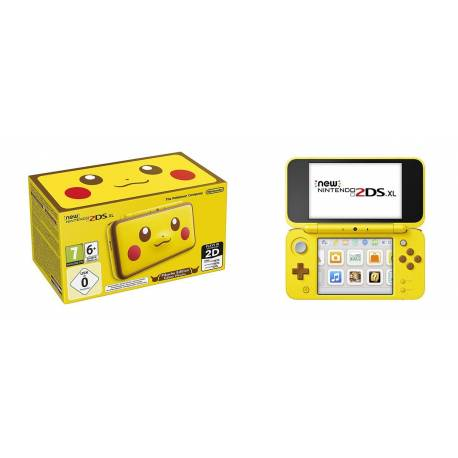 New Nintendo 2DS XL - Pikachu Limited Edition