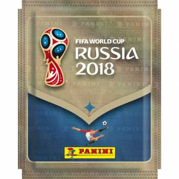 Pochette 5 stickers FIFA World Cup 2018