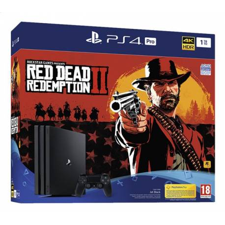 PS4 Pro 1To + Red Dead Redemption 2
