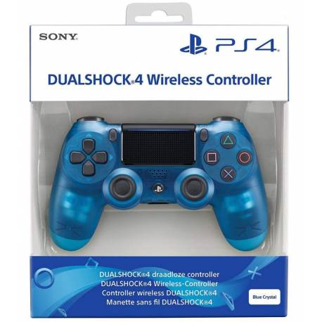Manette sans fil PS4 DualShock V2 - Crystal Blue