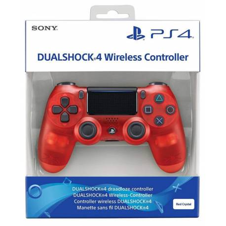 Manette sans fil PS4 DualShock V2 - Red Crystal