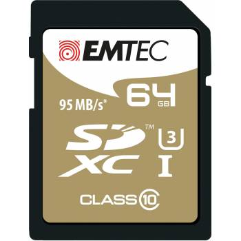 Emtec Carte mémoire SDXC Speedin 64GB
