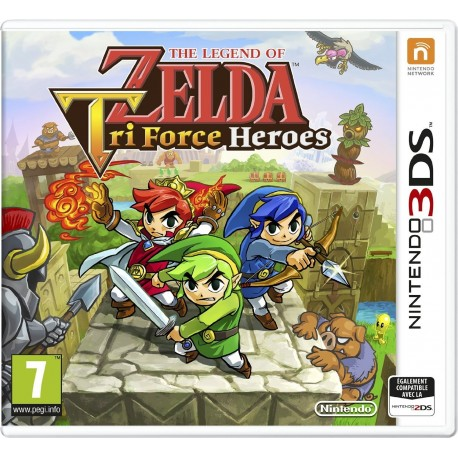 The Legend of Zelda : Tri Force heroes - 3DS