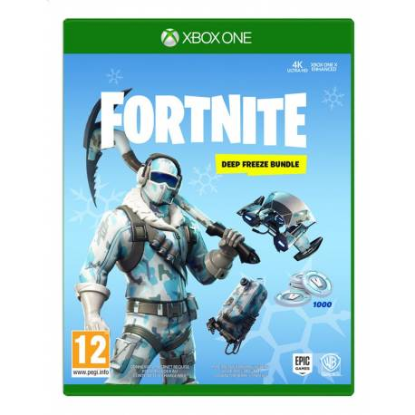 Fortnite - Deep Freeze Bundle (Code-in-a-box) - Xbox One