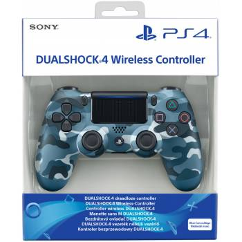 Sony Dual Shock 4 Controller V2 (Blue Camouflage)