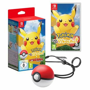 Pokémon : Let's Go, Pikachu + Poké Ball Plus - Switch