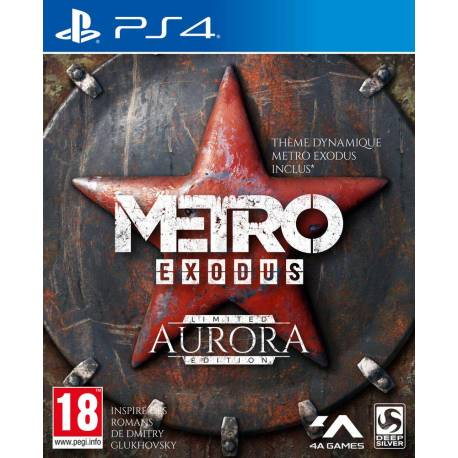 Metro Exodus (limited edition Aurora) - PS4