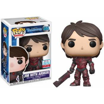 Trollhunters - Funko POP N° 466 - Jim with Armor (Exclusive)