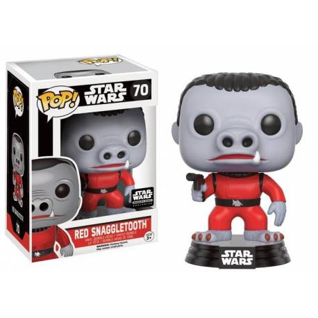 STAR WARS - Funko POP N° 70 - Red Snaggletooth LIMITED
