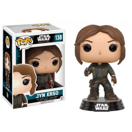 STAR WARS ROGUE ONE - Funko POP N° 138 - Jyn Erso