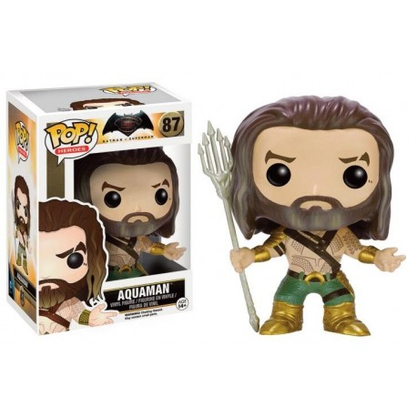 BATMAN VS SUPERMAN - Funko POP N° 87 - Aquaman