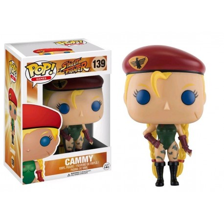 STREET FIGHTER - Funko POP N° 139 - Cammy