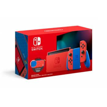 Nintendo Switch Edition Mario Rouge/Bleu