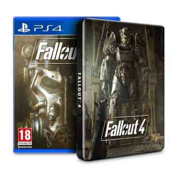 Fallout 4 + Steelbook - PS4