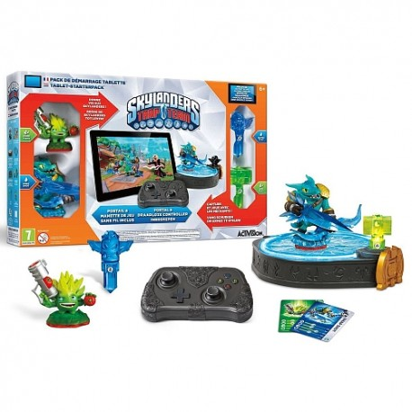 Pack de démarrage Skylanders Trap Team Tablette